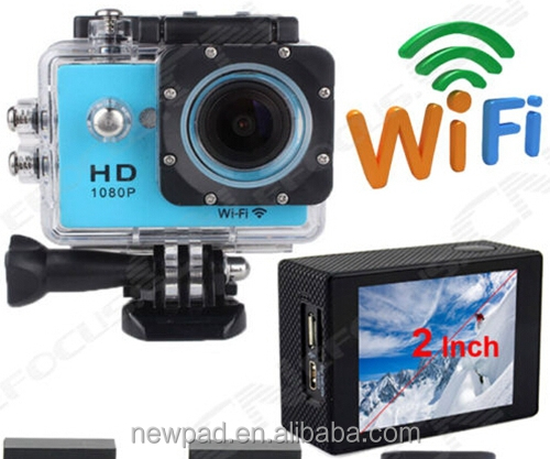 Factory sell Full hd 1080 waterproof Sports Camera extreme Action Sports Cameran WIFI SJCAM
