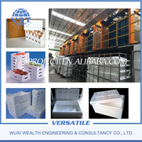 Widely Used Automatic EPS Box Forming Making Machine