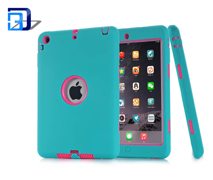 Newest product 360 degree protective 2 in 1 shockproof dustproof waterproof 7.9 inch silicone tablet case for iPad mini