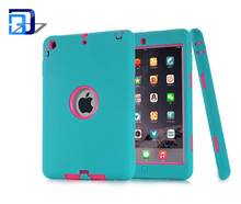 Newest product 360 degree protective 2 in 1 shockproof dustproof waterproof 7.9 inch silicone tablet <strong>case</strong> <strong>for</strong> <strong>iPad</strong> mini