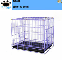 "2 x 30"" Small Folding Wire pet dog cages Kennel 2 Doors Training Suitcase"