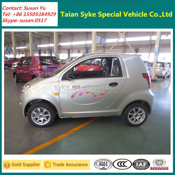 Left Hand Drive L6E EEC Certificate Electric Mini Car for Europe Market