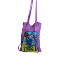 wholesale portable LOGO printing nylon shopping bag