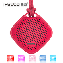 Thecoo new arrival mini bluetooth speaker waterproof bluetooth transmitte for home audio,video &accessories