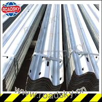 Corrugated Metal Galvanized AASHTO M180 Guardrail
