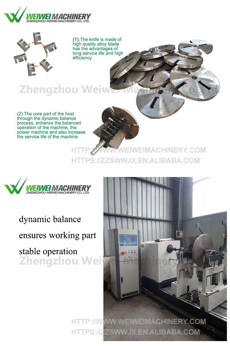Weiwei price hot sale hammer mill wood crusher