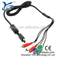 High quality AV cable for sony playstation 2/3 video game hd av cable for ps3 console