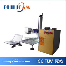 Hi efficiency Fiber laser marking machine for metal&non-metal(silicon wafer, ceramics, plastic,rubber, epoxy resin, ABS)