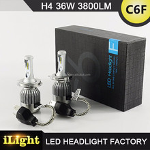 High Power Led Light H4 Car Bulb Led Headlight