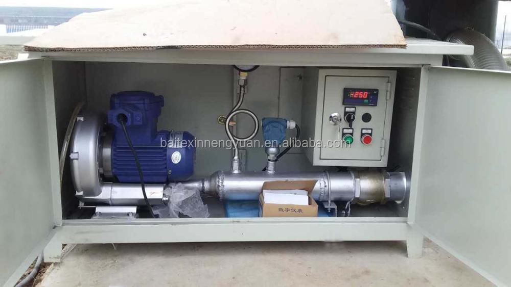 field auto control cabinet for biogas plant