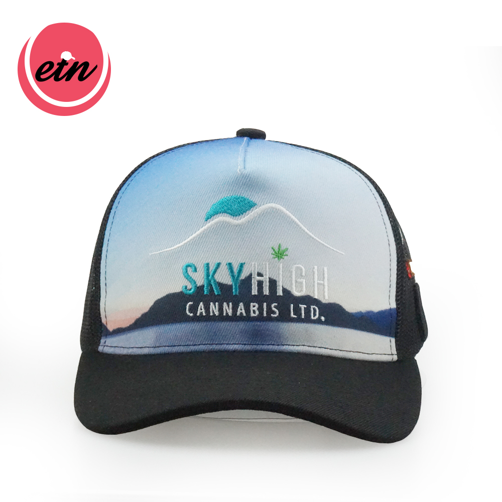 High quality sublimation trucker mesh cap custom trucker cap <strong>hat</strong>