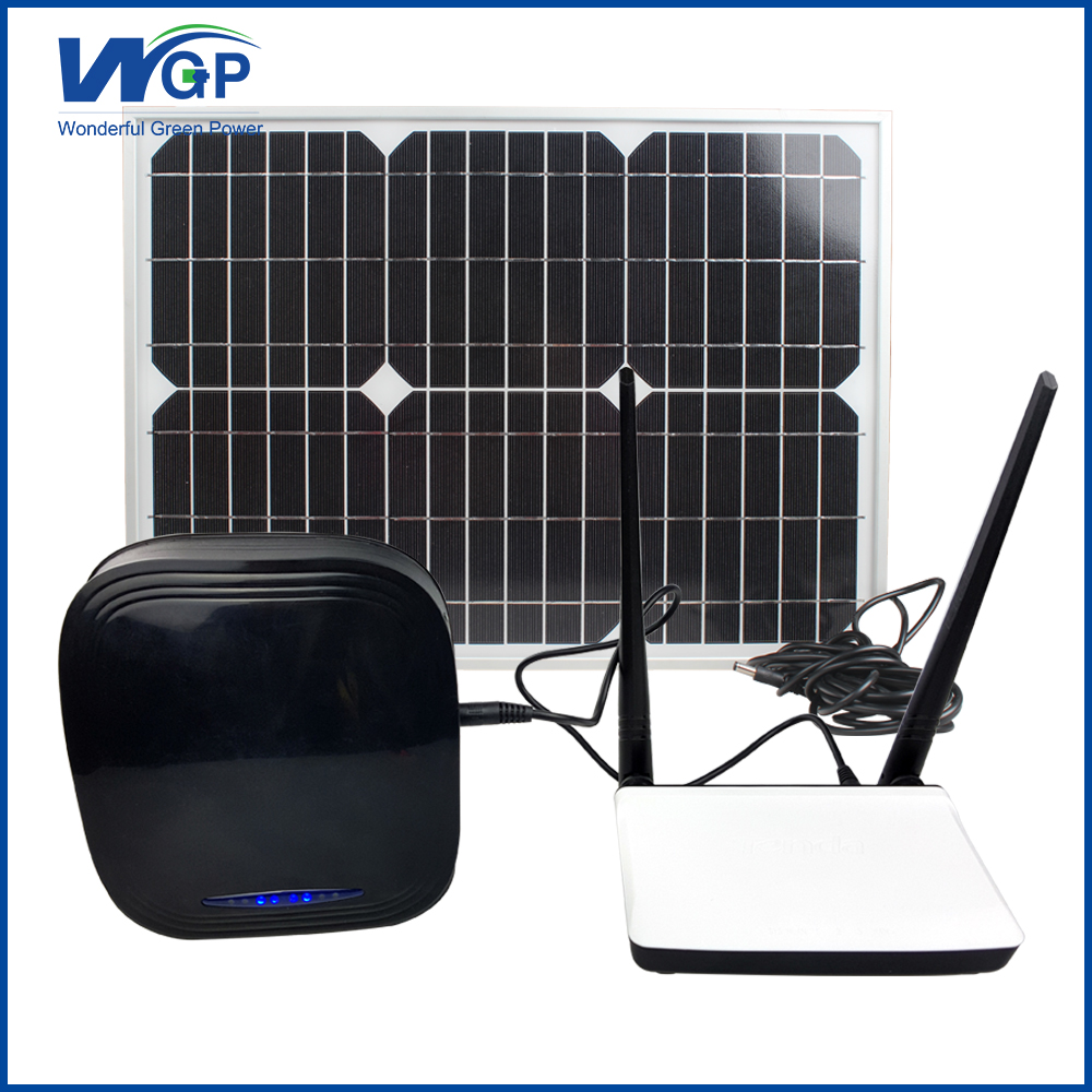 High Capacity Dual USB Solar Panel Battery Charger For Router