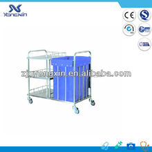 Medical rescue cleaning trolley