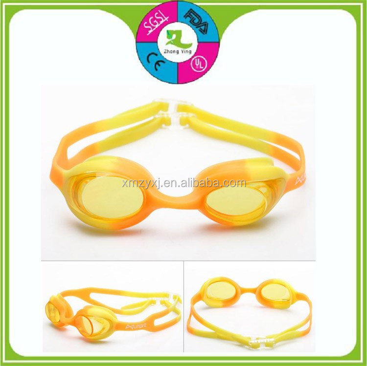 Custom Cute Silicone Swimming Kids Goggles