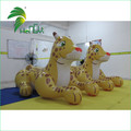Hongyi Inflatable leopard ride on inflatable cartoon toys