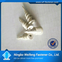 Nylon self -drill plasterboard fixings anchor PE PA PVC small box packing ningbo factory nylon self drill speed anchor