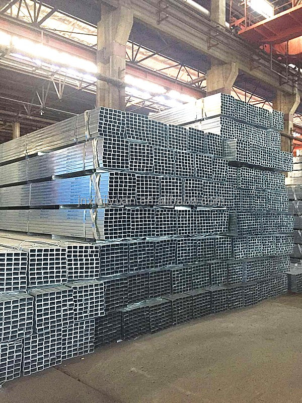 Q235 Hot Dip Galvanized Rectangular Steel Pipe for Furture