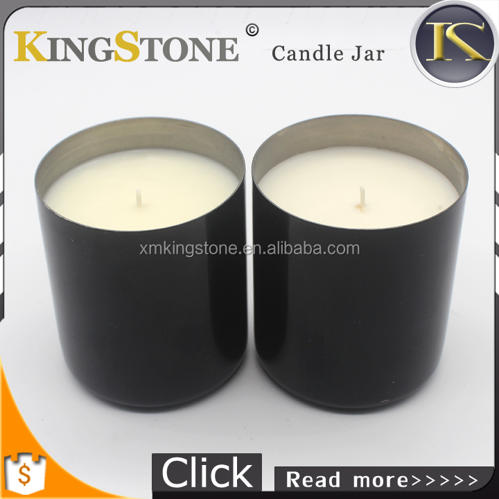 High Quality Scented Copper Soy Candle Tin Container