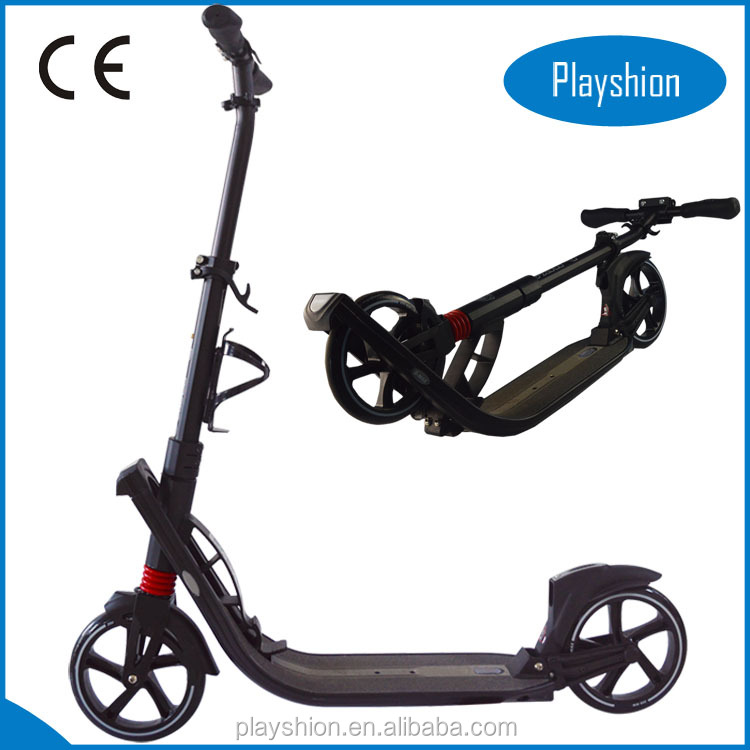 Double suspension kick scooter 200 MM adult kick scooter big wheels