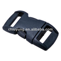 Contoured Side Release Buckle for pet collar