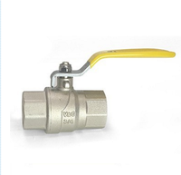 Low Pressure Oil Brass Gas Ball Valve