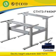 Adjustable system table & Rasing up lifting down desk legs & electronic height adjustment column remote control