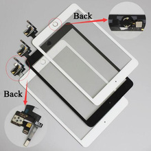 Touch Screen Digitizer Assembly with Home button for Ipad mini 1 2 3 Tablet touch panel