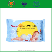 Chinese skin care products OEM factory baby wipes