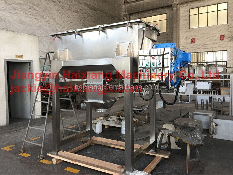 coffee powder mixing machine/horizontal ribbon mixer/blender