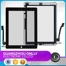 Competitive price for apple ipad 4 lcd digitizer touch screen, for ipad 4 touch screen assembly