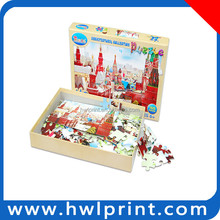 Intelligence toy hand operation ability jigsaw puzzle tool