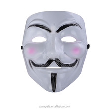 V for Vendetta Party Mask Halloween Mask Peculiar Cosplay Party Supplies Horror Full Face Mask