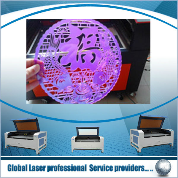 Laser cutting and engraving for leather, cloth, wood,double heads laser cutter,Embroidery Applique Cutting Machine