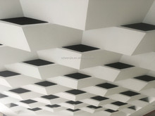 shandong wanjia pvc gypsum ceiling board, gysum false ceiling cheap beautiful ceiling tile,