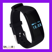 IP66 Waterproof Fitness bluetooth 4.0 bracelet Silicone Smart Bracelet fitness band Heart Rate Monitor/NFC/Pedometer