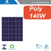 TUV approved 140w ul solar panel connect to solar grid inverter for china solar systems