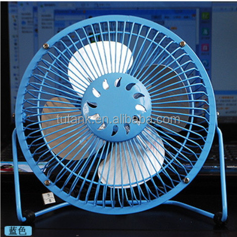 6 inch USB Mini Electric Fan connect to computer laptop pc USB Cooler Cooling Desk Fan