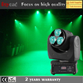 Cheap price 3x4in1 15w led small beam moving head dj effect lights with dmx mode