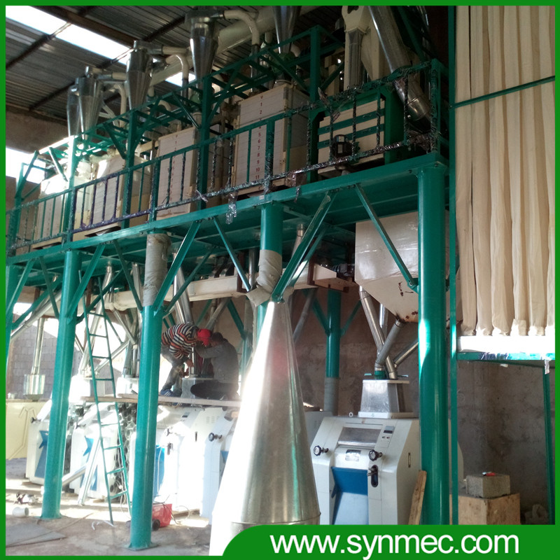 100-300T/D flour milling machine, home wheat mill