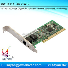 1000Mbps Intel 82541 chipset 8391GT mini pci network card