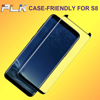 Case Friendly For S8 3D Mobile Screen Protector, Anti Static Screen Protective*