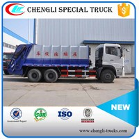 Dongfeng New Model 6x4 18m3 Garbage Compression Truck Manufacturer