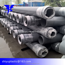 Hot selling machine grade hexagonal pvc pipe With CE and ISO9001