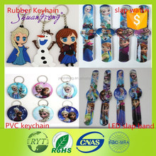 wholesale hot sale LED cheap PVC festival promotion gift