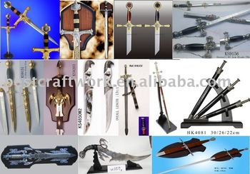 Home Decorative Knives And Swords