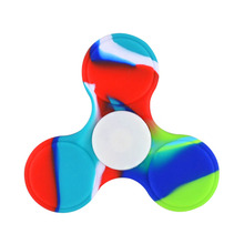 2017 Top Selling Hand Toys Fidget Spinner with glow in dark