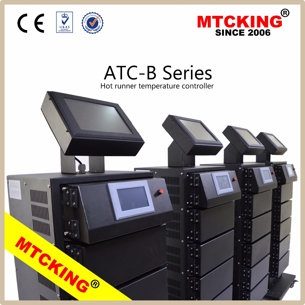 Colorful Smart touch hot runner temperature controller plastic injection moulding machine with ATC-B Series