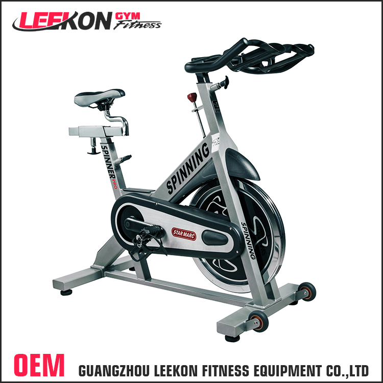 customized gym cardio equipment 20kg flywheel exercise bike commercial magnetic spinning bike