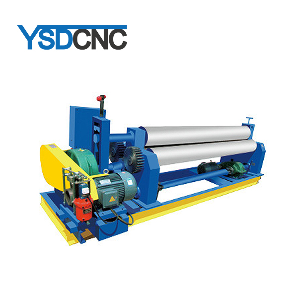 w11-12*2200 solid Automatic 3 roller sheet metal electric three -roll rolling machine