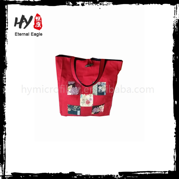 Professional fancy canvas shopping bag With logo printed
